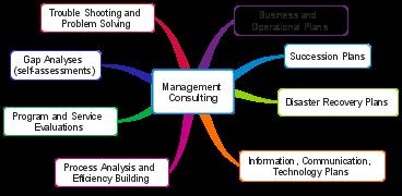 management consulting diagram